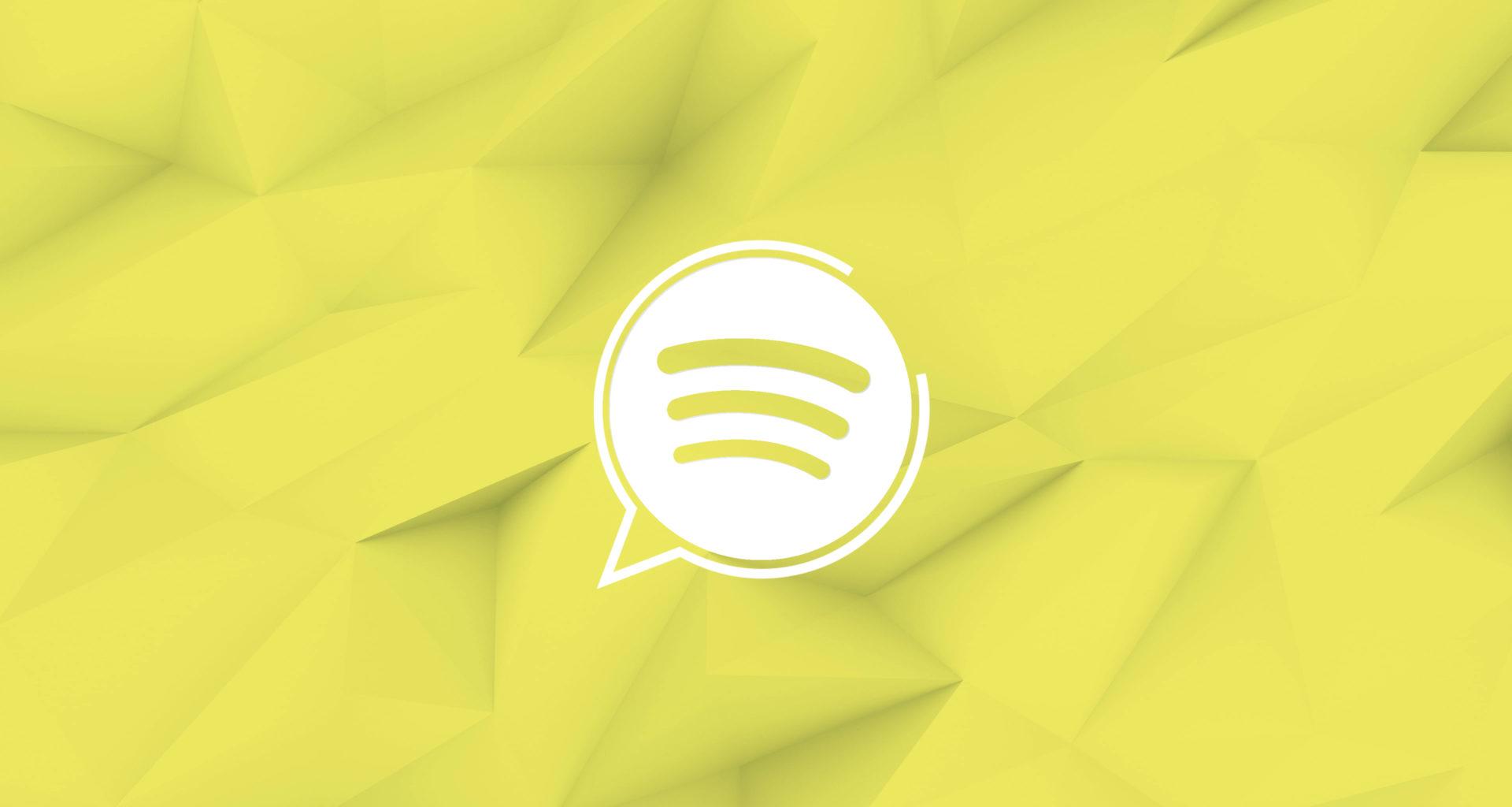 Assistant vocal Spotify logo