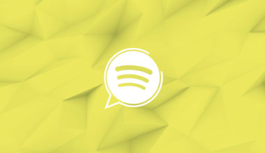 Assistant vocal Spotify logo
