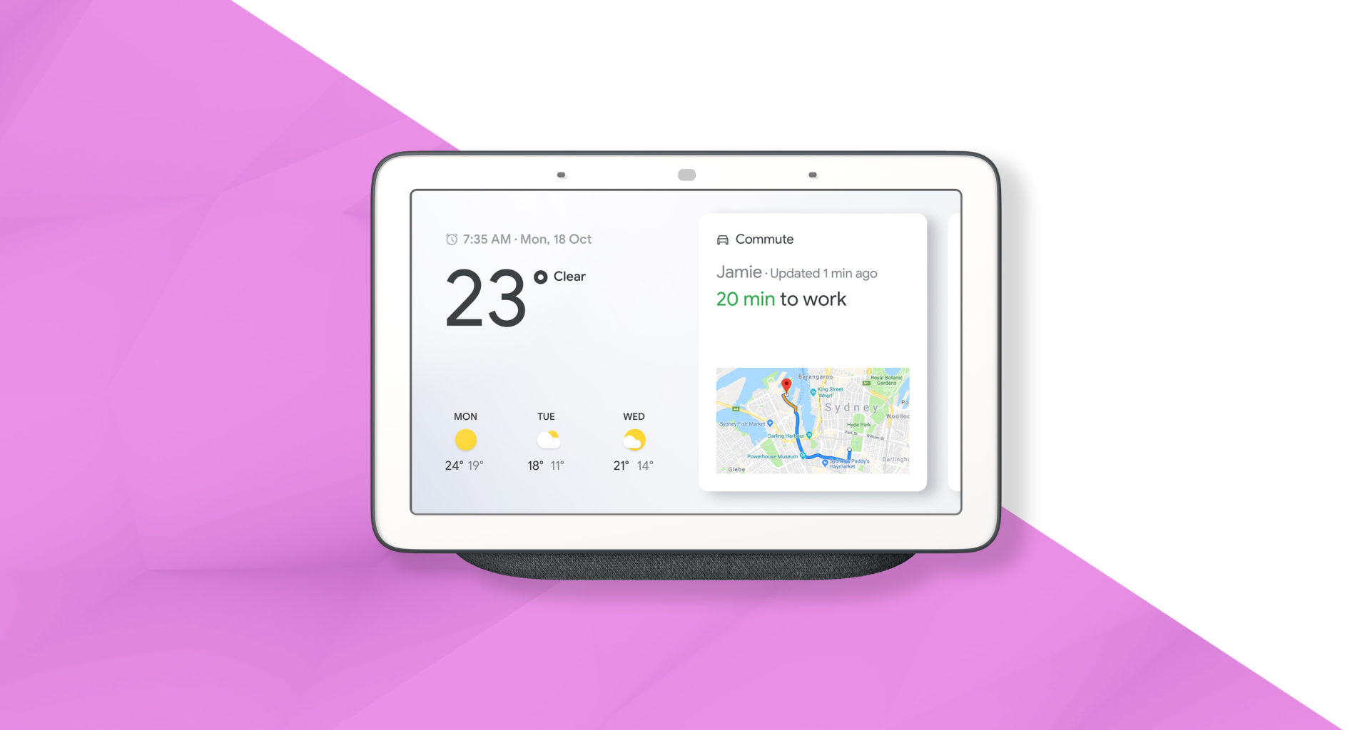 Application Google hub max