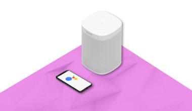 Enceinte Sonos Google Assistant