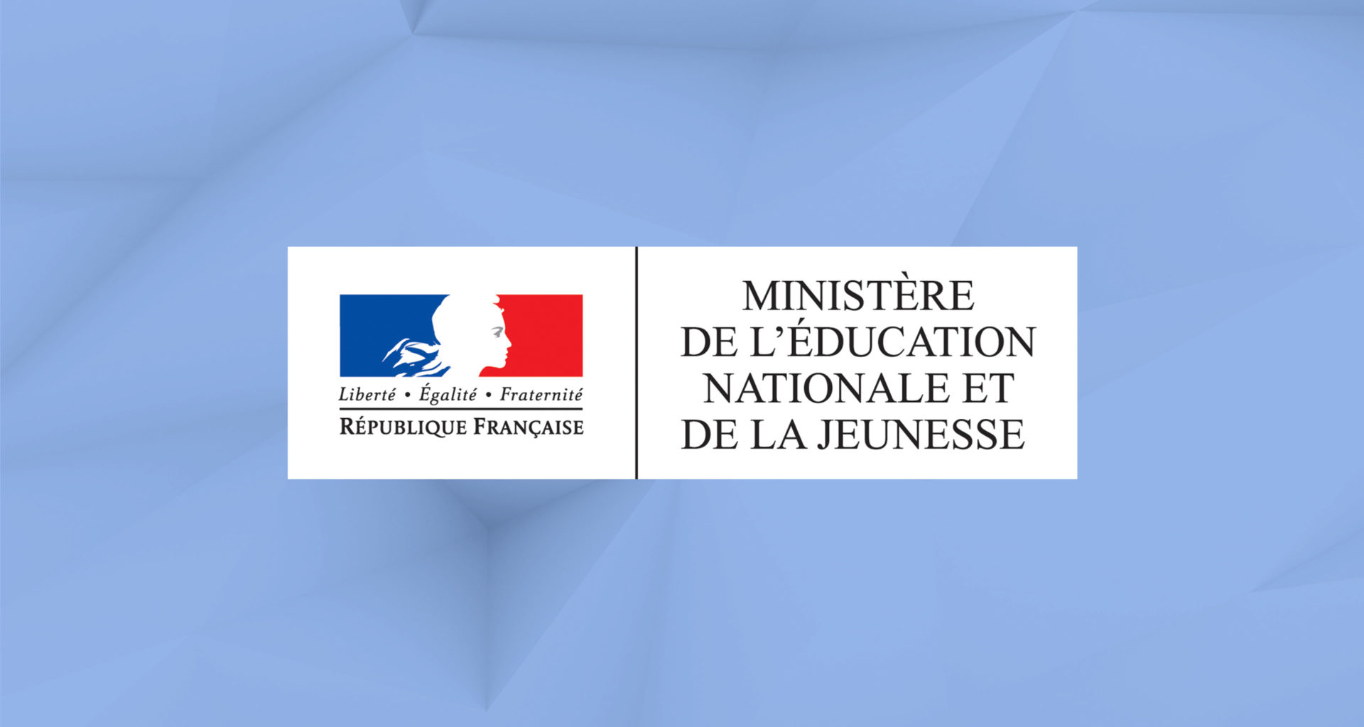 logo de l'éducation nationale et assistant vocal