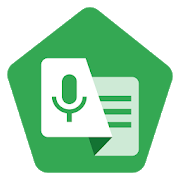 logo Live transcribe - Google Android 10
