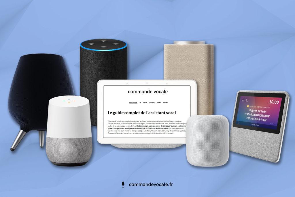 Tous les assistants vocaux: Bixby - Google Home - Alexa - Google Nest - Yandex - Siri - Baidu