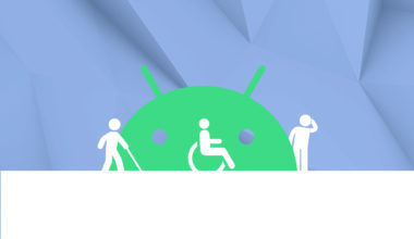 Application Google Android accessibles pour le handicap