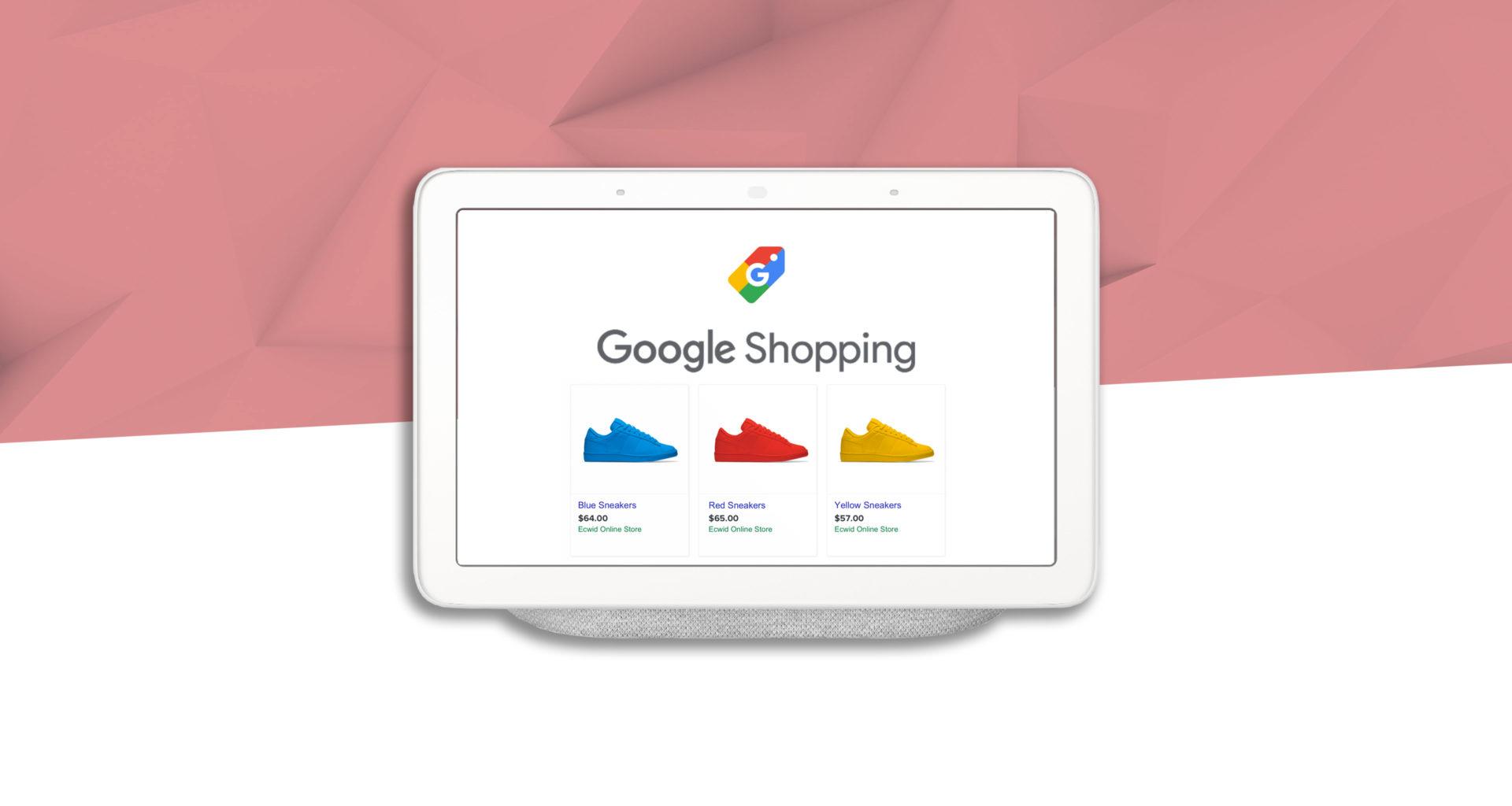 Acheter des produits avec la voix sur Google Shopping et Google Assistant
